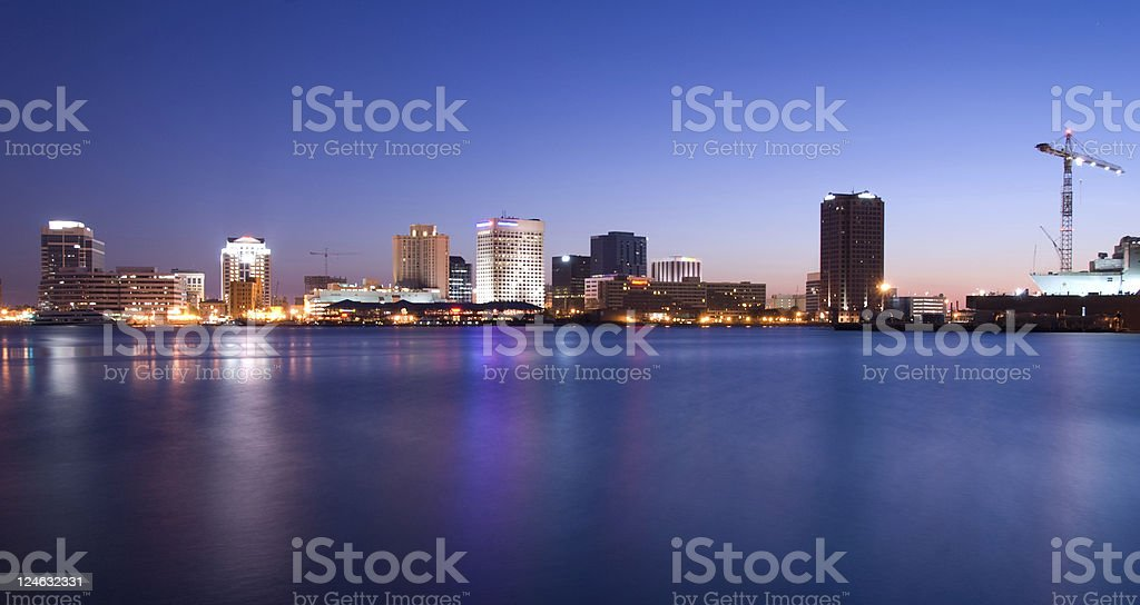 Reflections of Norfolk royalty-free stock photo