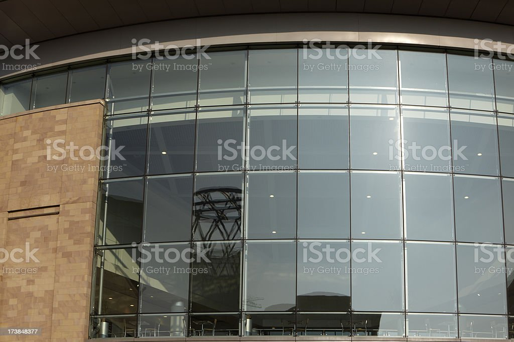 Reflections of the Lowry Centre royalty-free stock photo