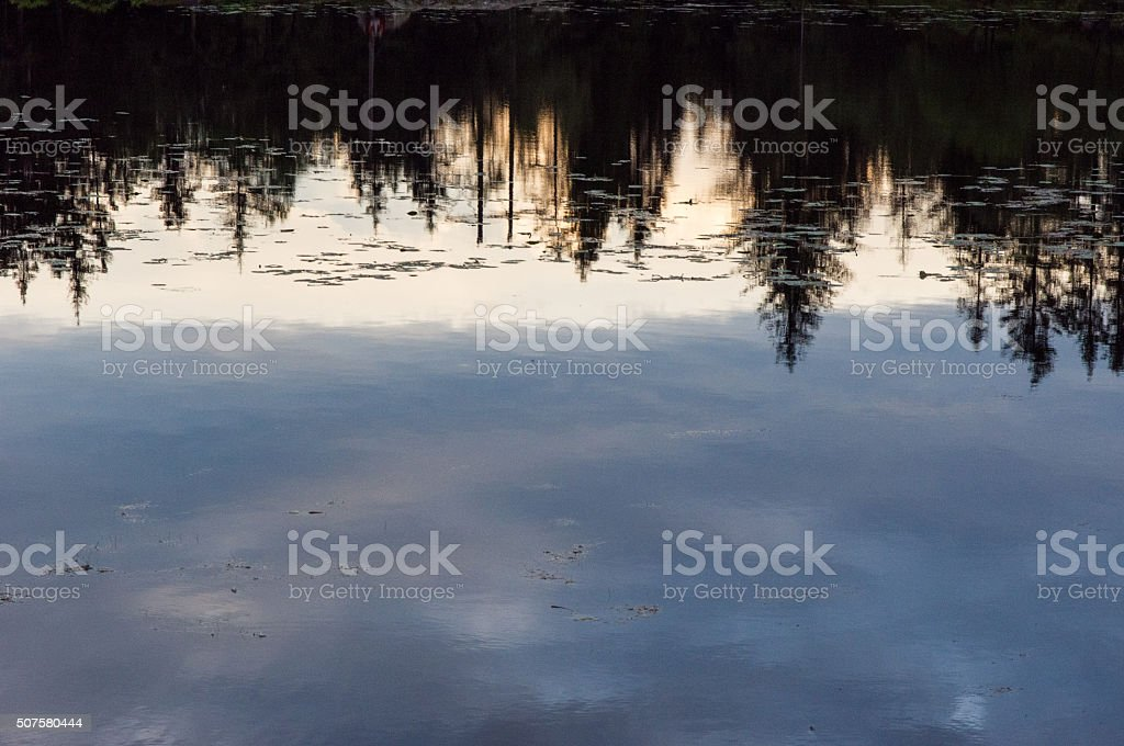 Reflections stock photo