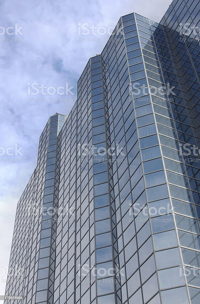 Reflective Building royalty-free stock photo