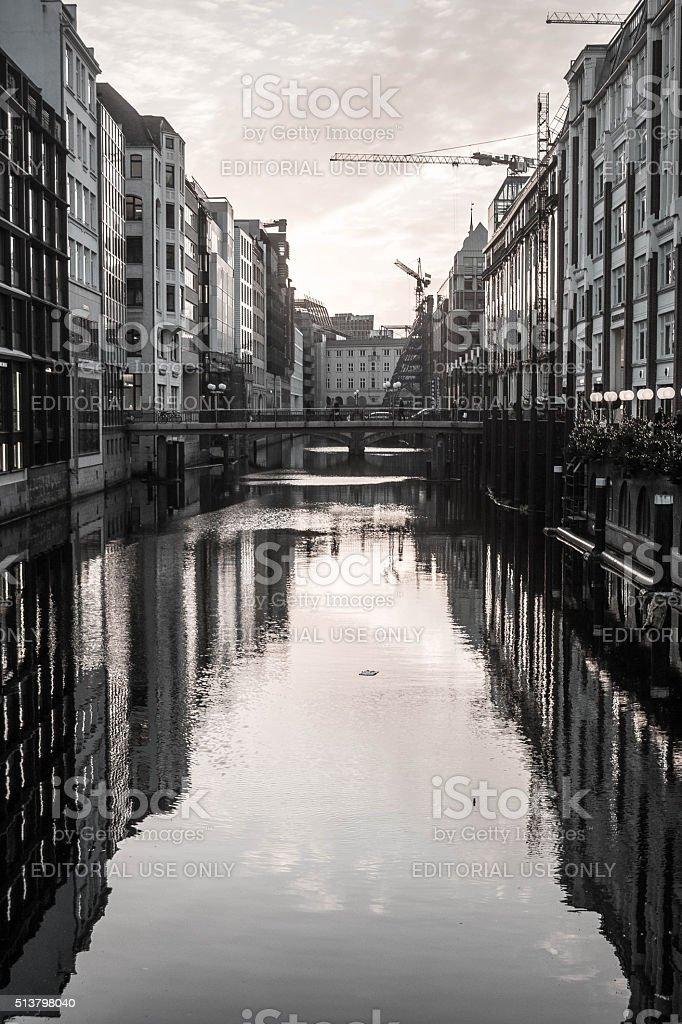 Reflective Buildings stock photo