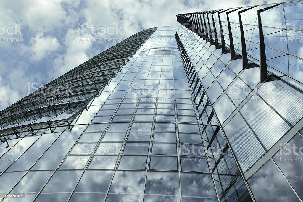 Reflective facade royalty-free stock photo
