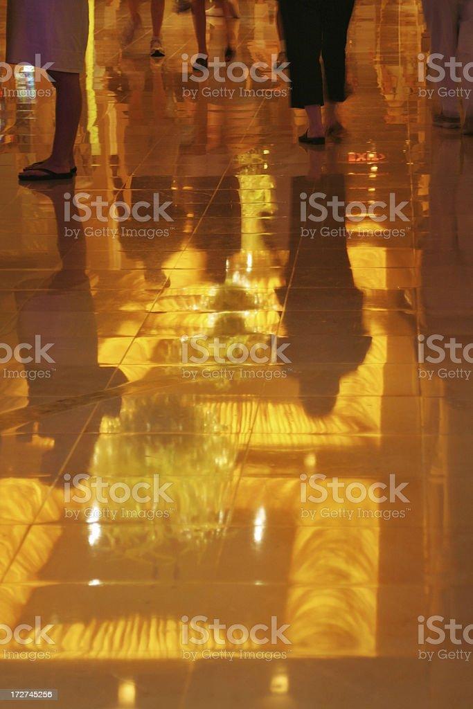 Reflective floor royalty-free stock photo