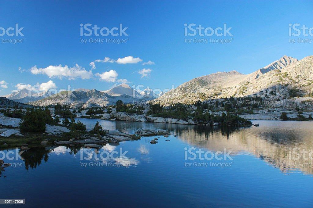 Reflective stock photo