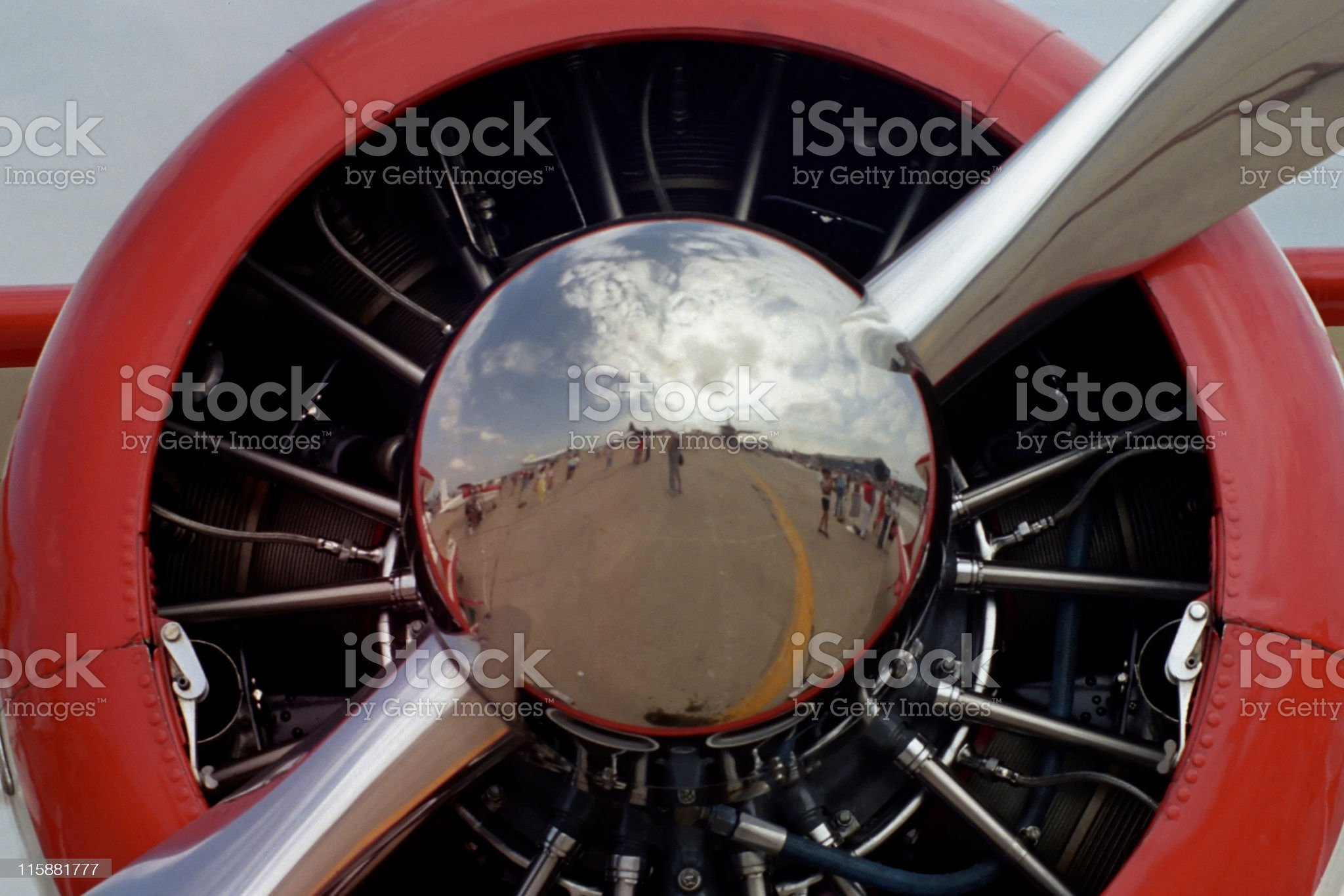 Reflective Propeller royalty-free stock photo