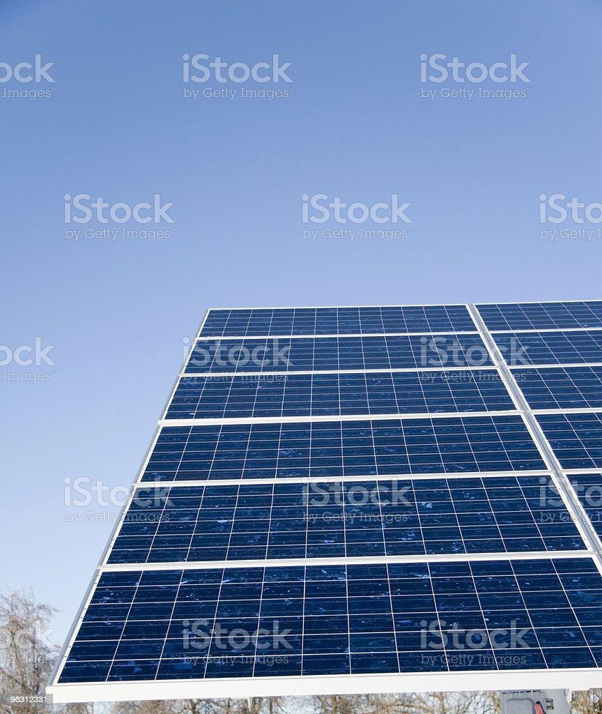 Reflective Solar Panels royalty-free stock photo