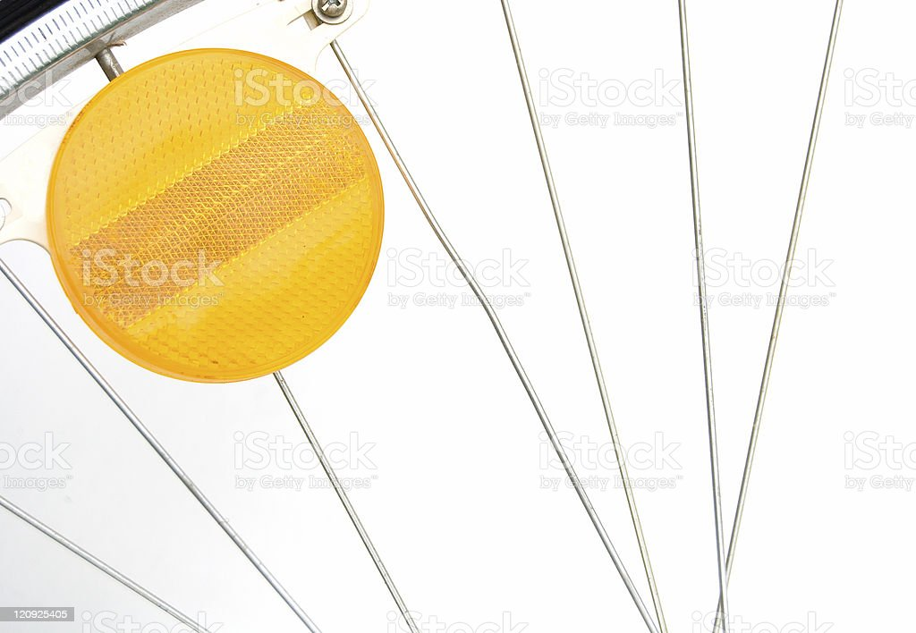 Reflector and Spokes royalty-free stock photo