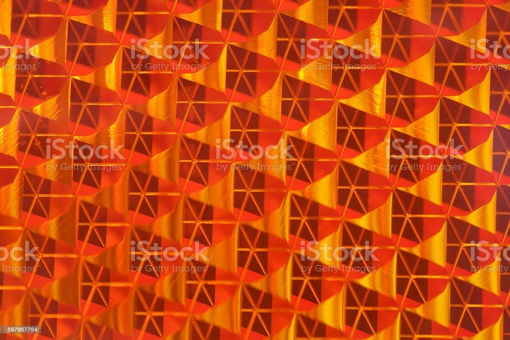 Reflector pattern stock photo