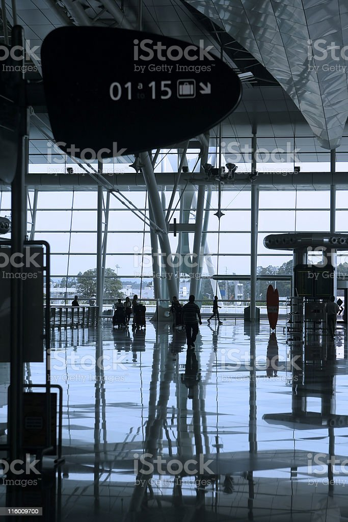 reflex at the airport royalty-free stock photo