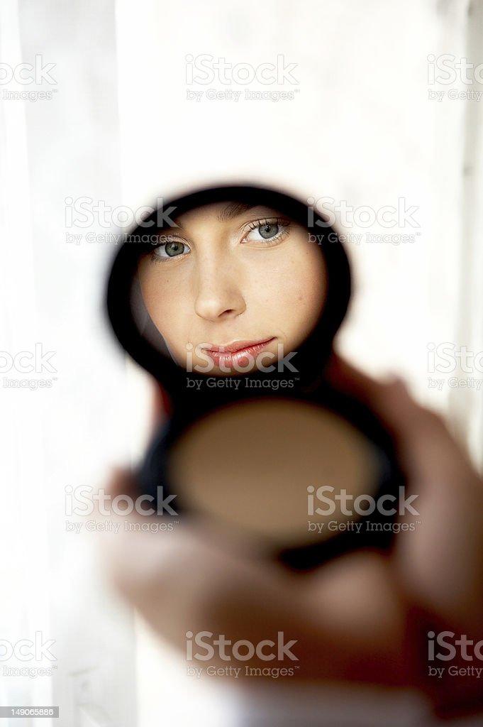 reflexion royalty-free stock photo