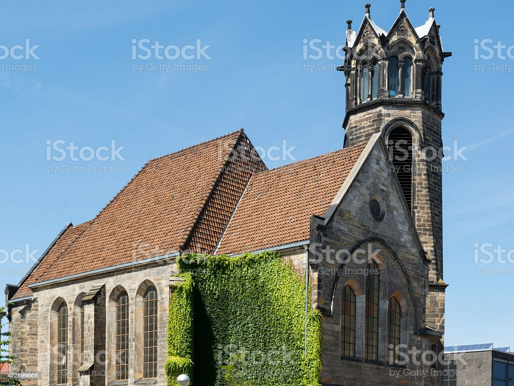 Reformed Evangelical church, Hannover, Germany stock photo