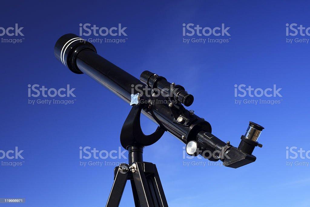 Refracting Telescope stock photo