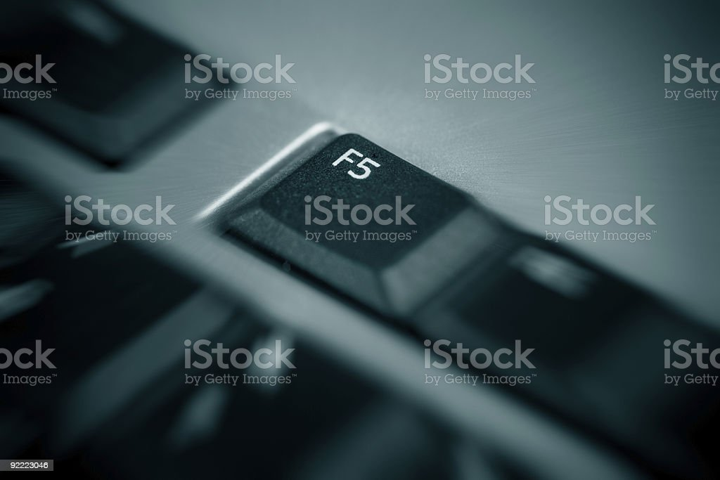 Refresh Button royalty-free stock photo