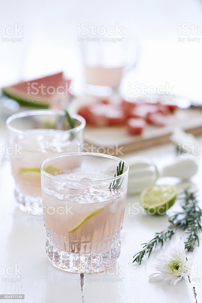 Refresh yourself stock photo