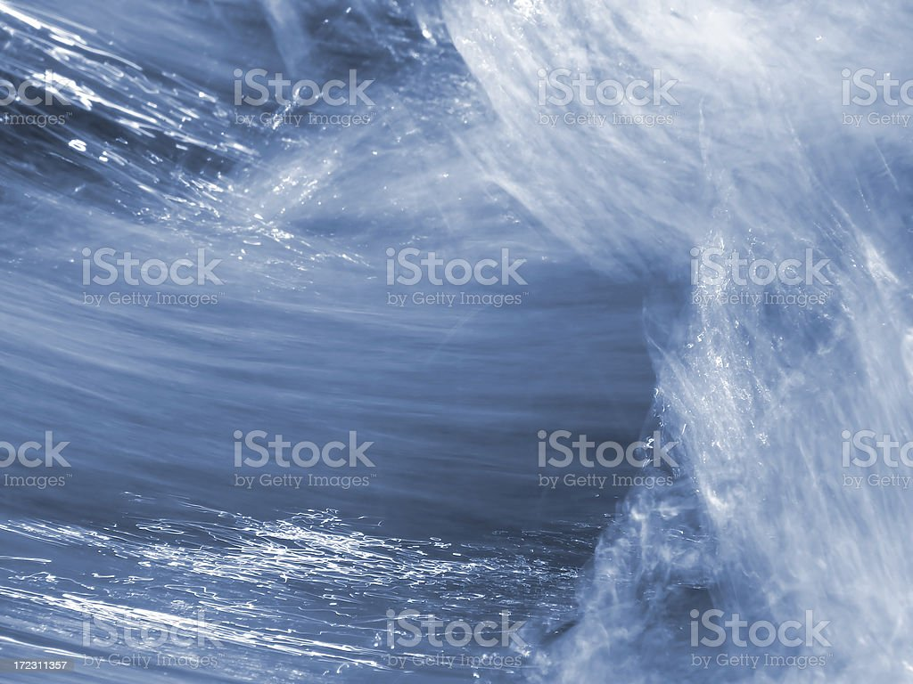 refreshing blue water ripple royalty-free stock photo