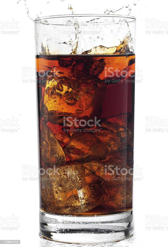 Refreshing drink stock photo