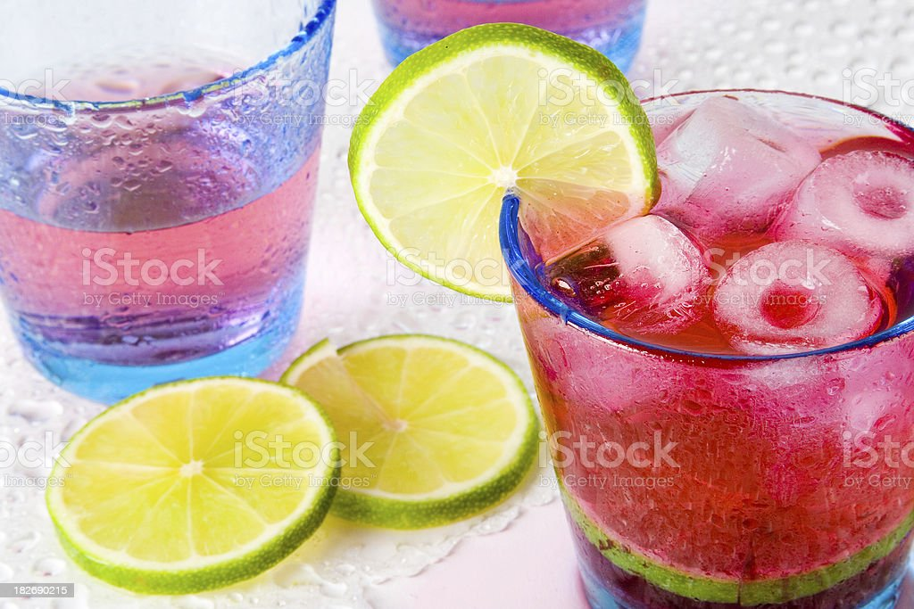 Refreshing drinks royalty-free stock photo