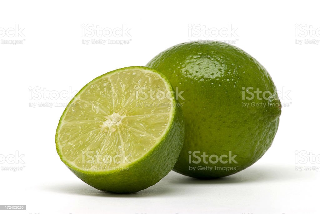 Refreshing Limes stock photo
