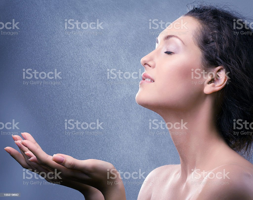 Refreshing stock photo