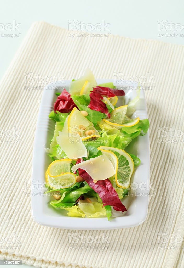 Refreshing salad stock photo