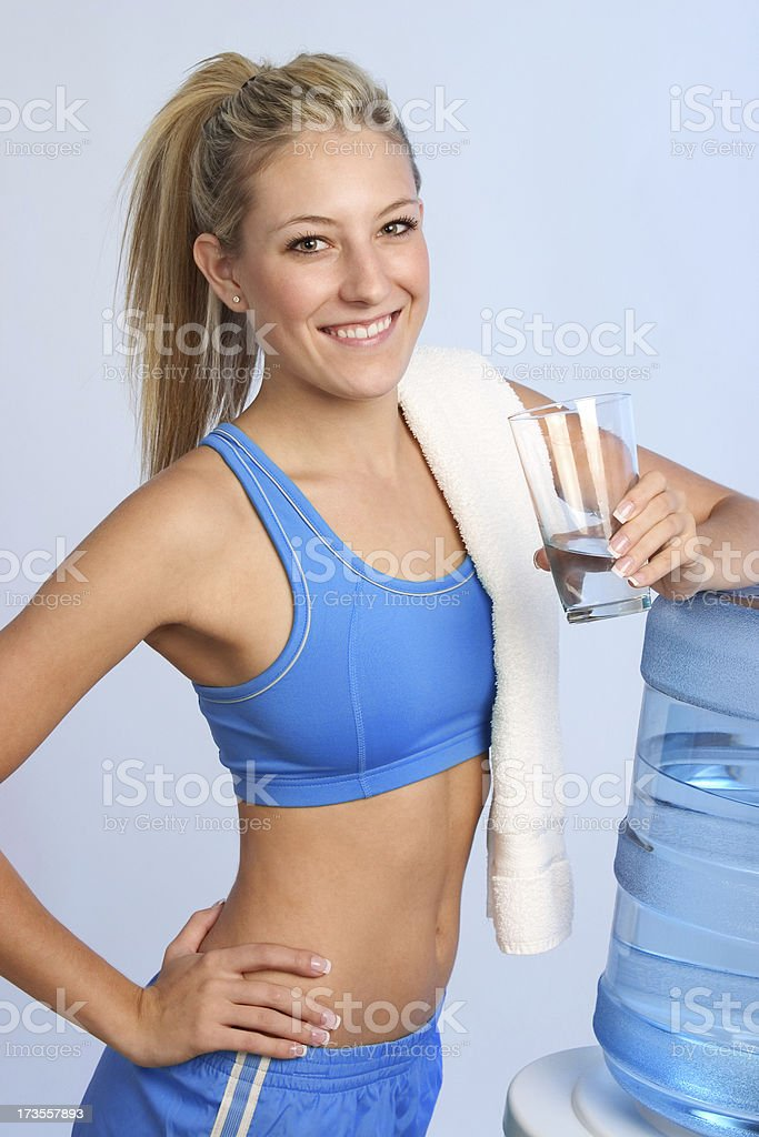 Refreshing Water royalty-free stock photo