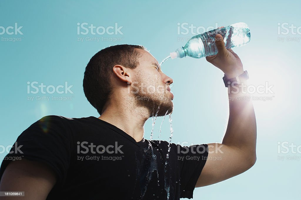 Refreshment royalty-free stock photo