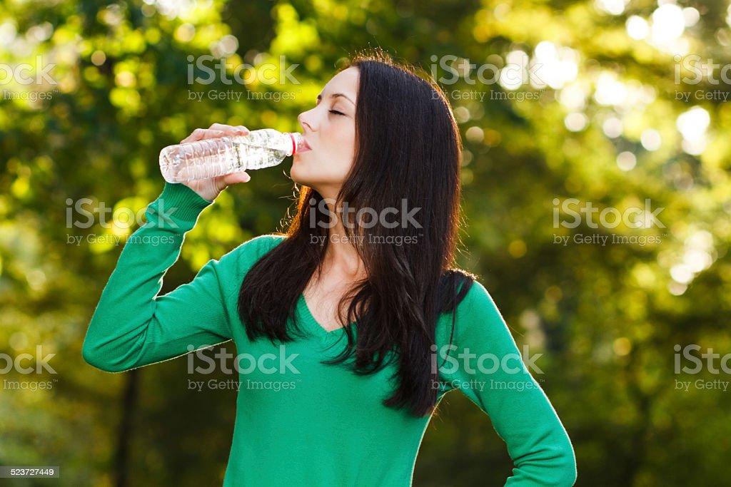 Refreshment stock photo