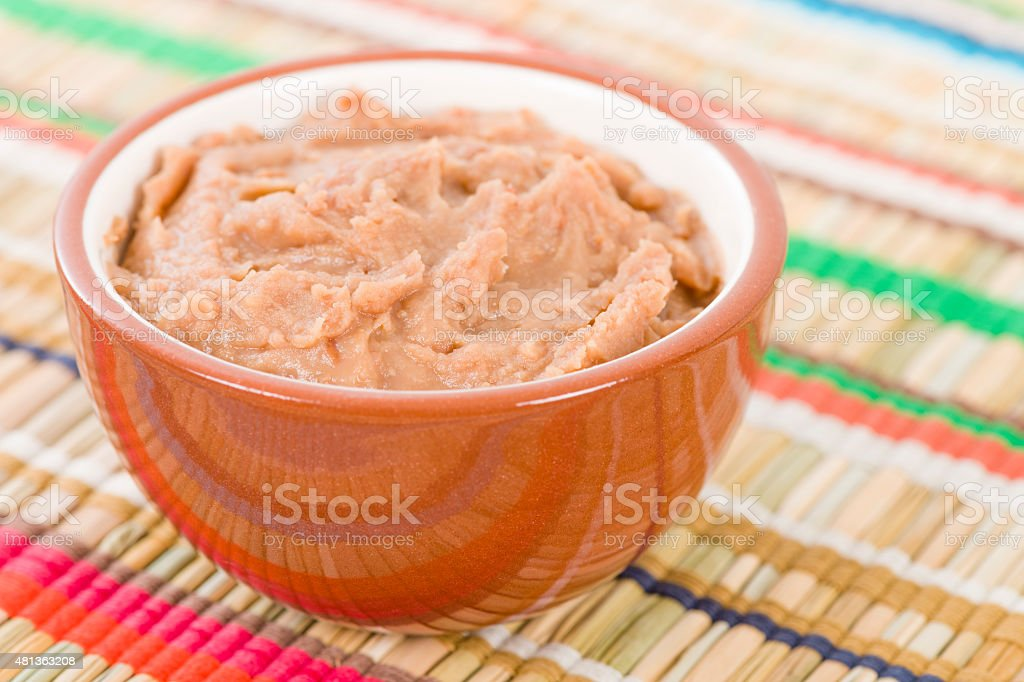 Frijoles Refritos stock photo