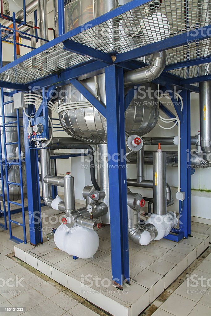 Refrigeration compressors. royalty-free stock photo