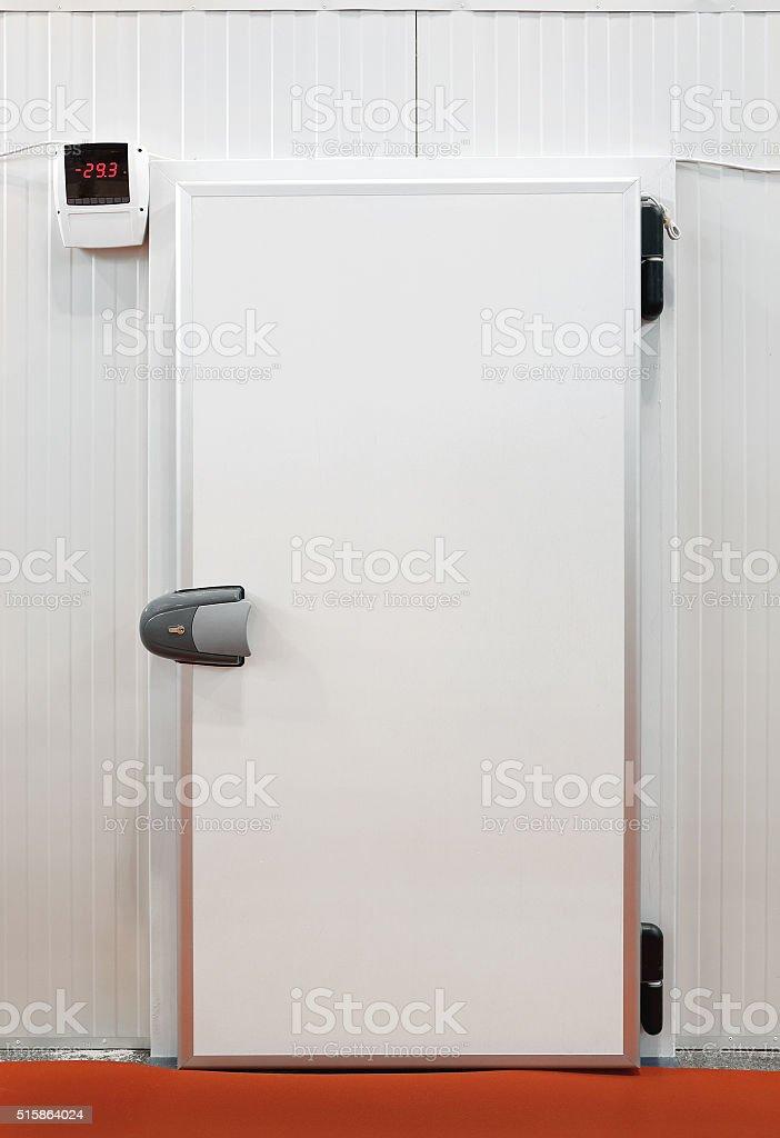 Refrigeration Storage stock photo