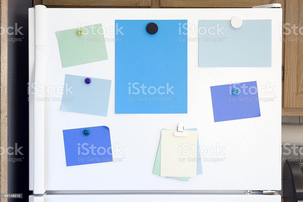 Refrigerator Door stock photo