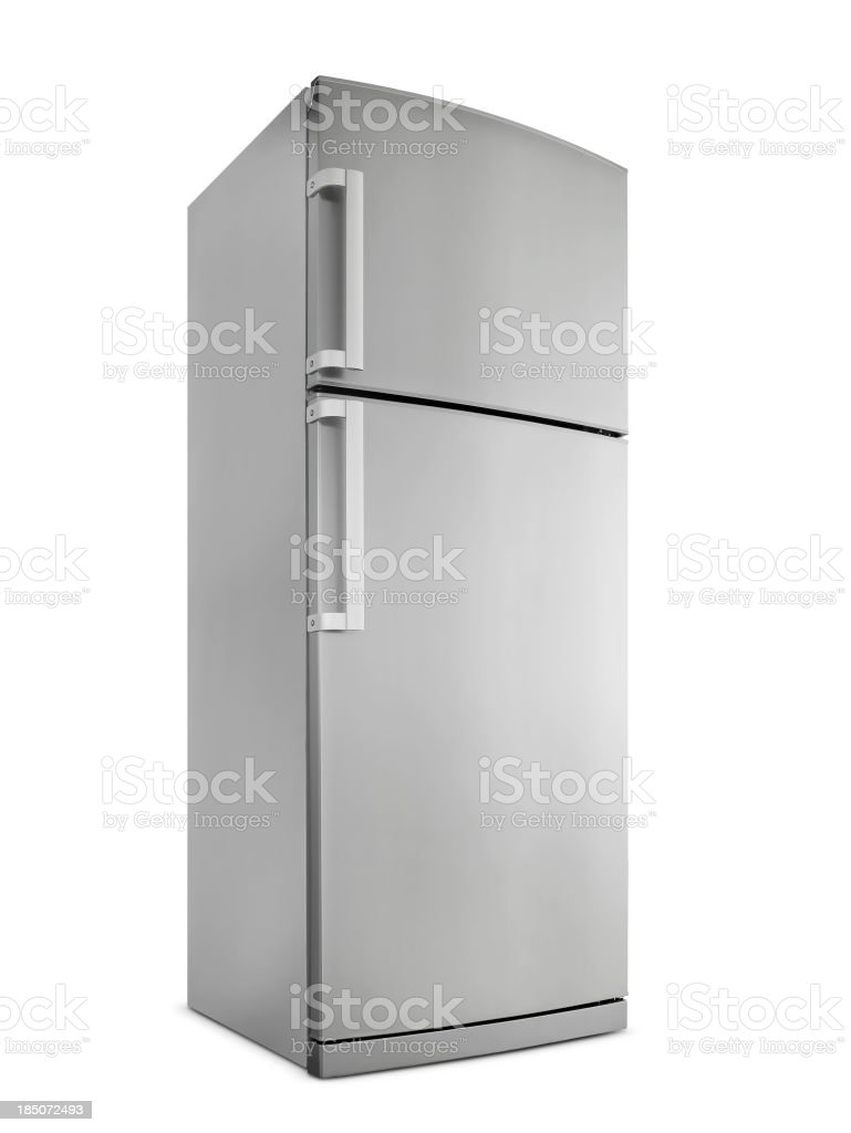 Refrigerator (Click for more) stock photo