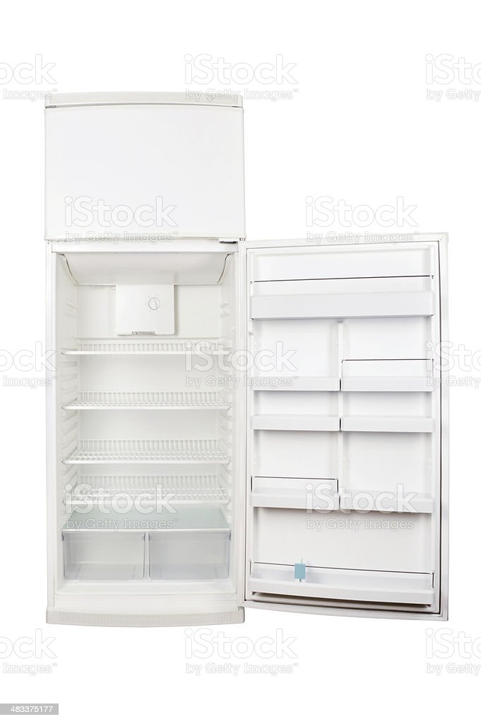 Refrigerator+Clipping Path (Click for more) stock photo