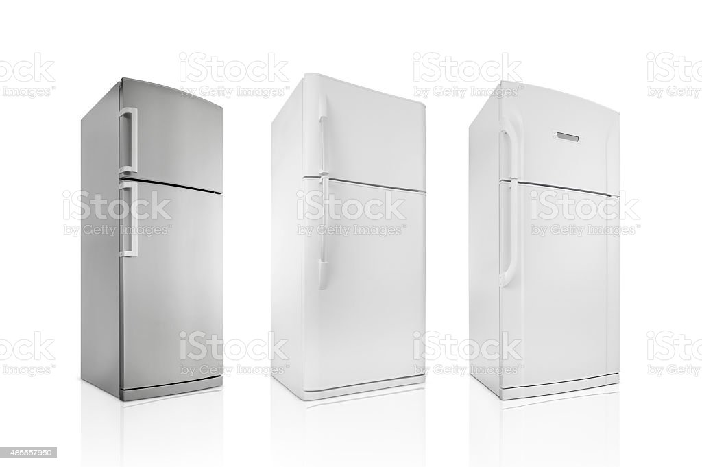 Refrigerators (Click for more) stock photo