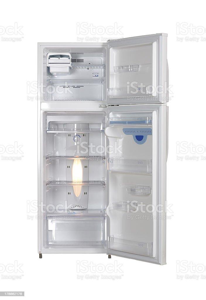 Refrigetator interior stock photo