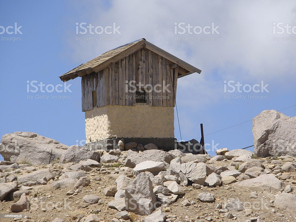 Refuge Catedral stock photo
