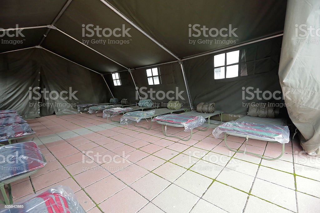 Refuge shelter stock photo