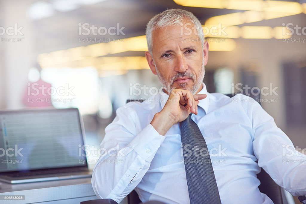 I refuse to be anything but successful stock photo