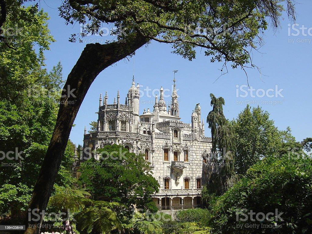 Regaleira palace3 stock photo