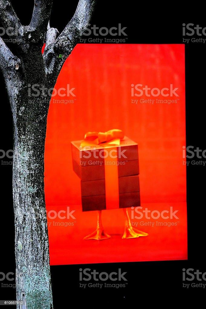 regalo rojo royalty-free stock photo