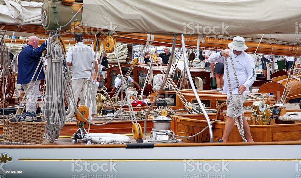 Regates Royale de Cannes royalty-free stock photo