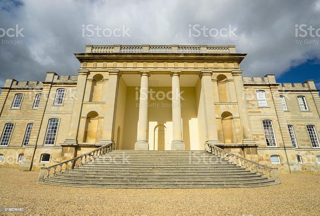 Regency Building in Cambridgeshire stock photo