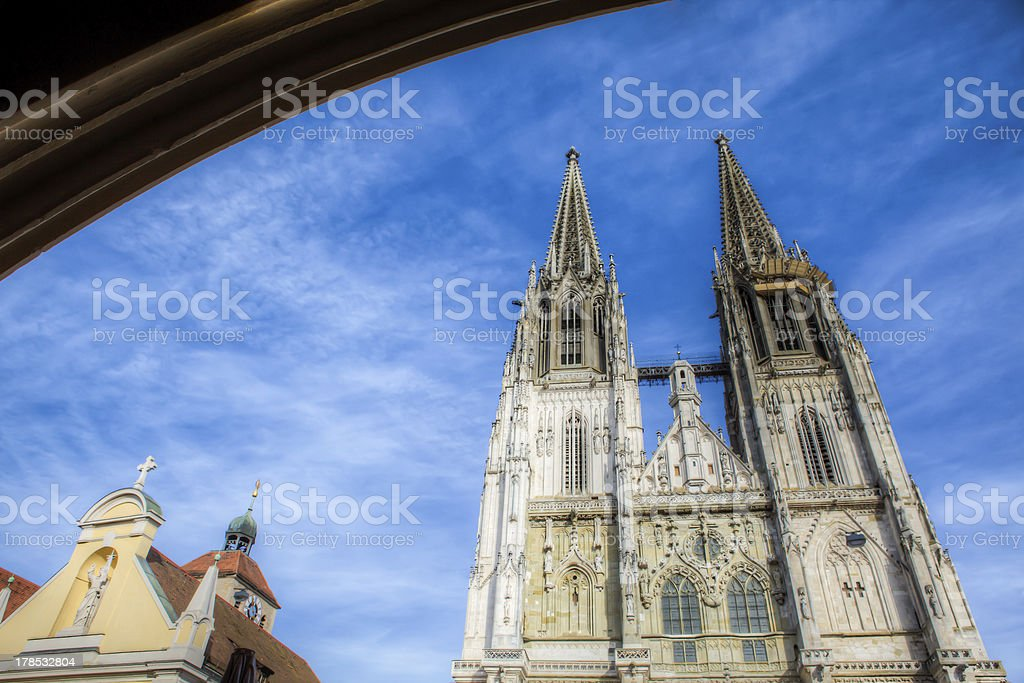 Regensburer Dom royalty-free stock photo