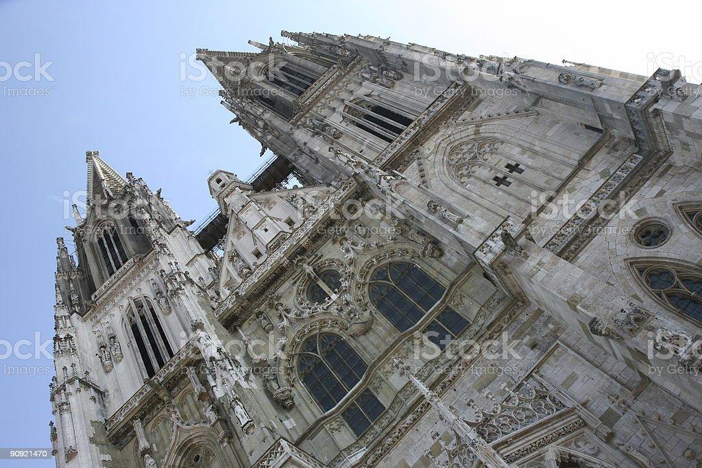 Regensburg - Cathedral stock photo