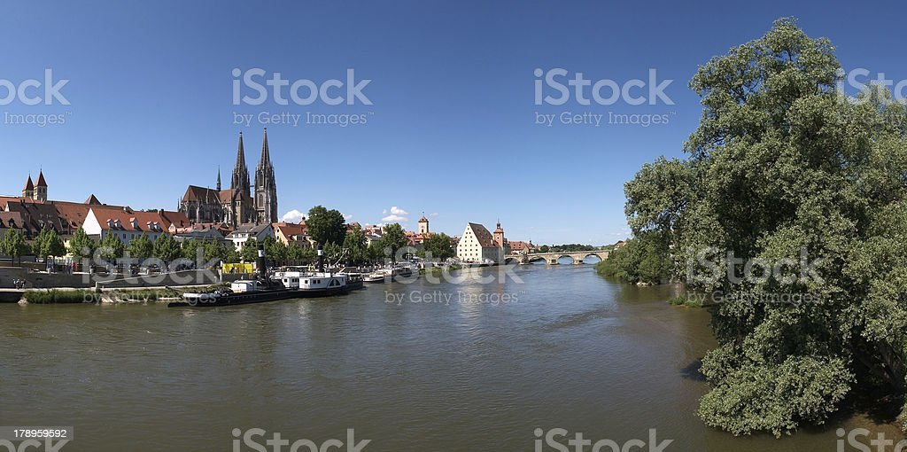 Regensburg royalty-free stock photo