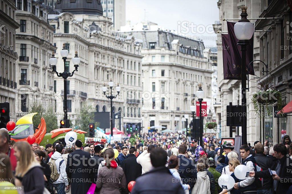 Regent Street Festival royalty-free stock photo