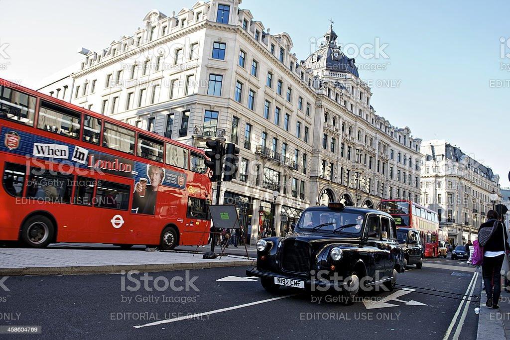 Regent Street, London royalty-free stock photo