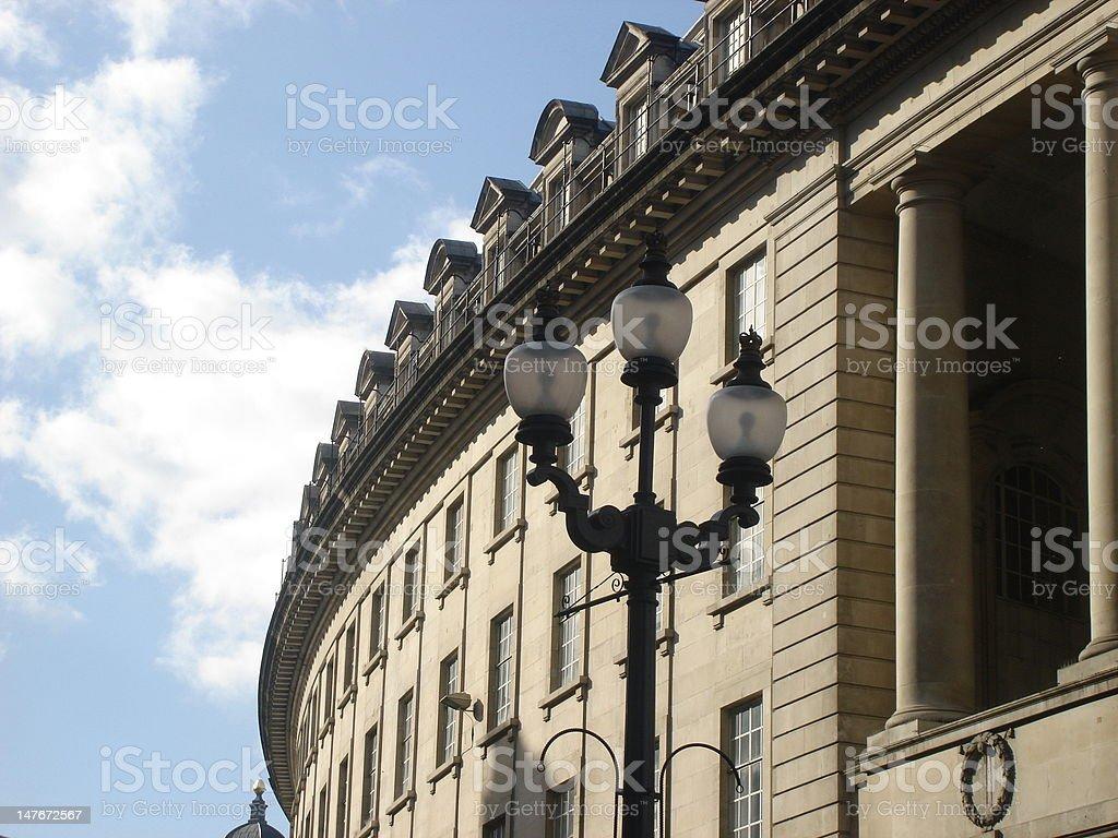 Regent Street, London, UK in March 2008 stock photo