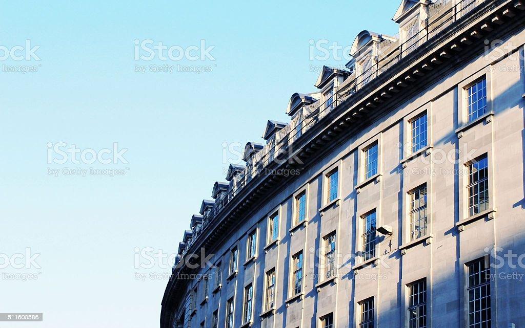 Regent Street stock photo