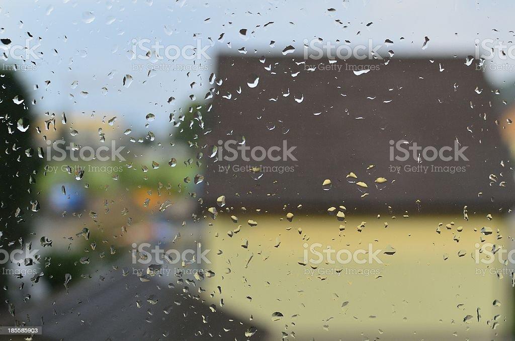 Regentropfen stock photo